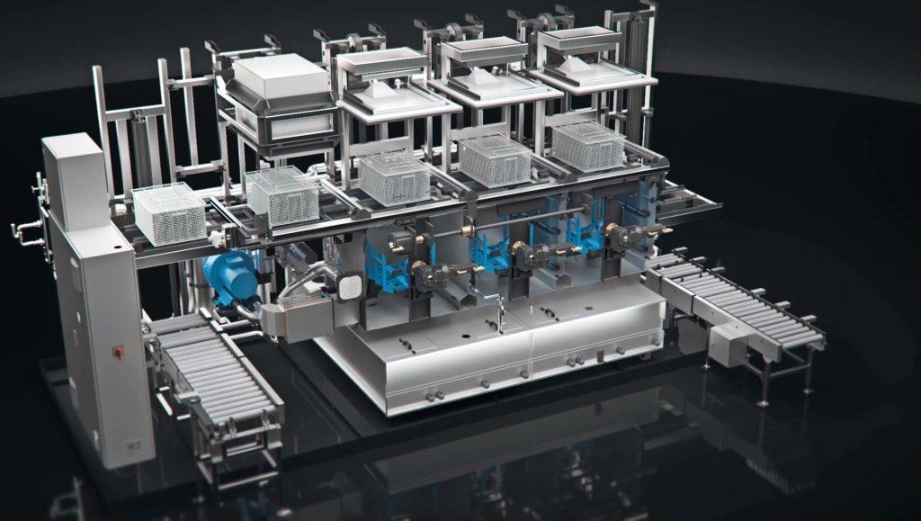 Noyen 5x animacji maszyn myjących